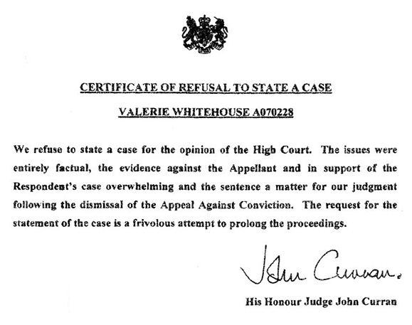 Latest Judgement